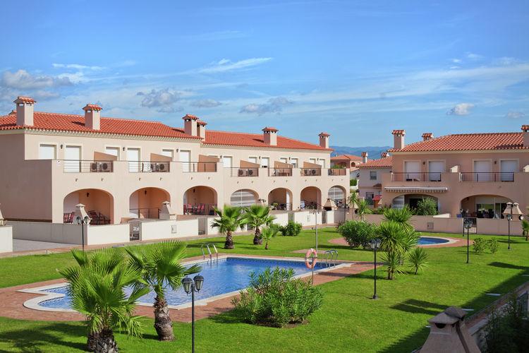 Vakantiehuizen Miami-Playa te huur Miami-Playa- ES-43892-24 met zwembad  met wifi te huur