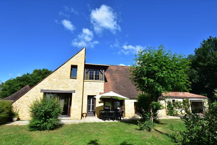Villa met zwembad met wifi  DordogneSt Julien de Lampon