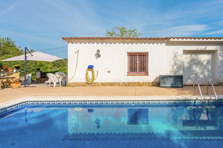 vakantiehuis Spanje, Costa Brava, Llagostera vakantiehuis ES-17240-02