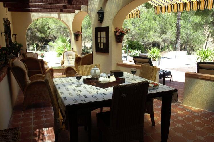 Villa Spanje, Costa Blanca, Jijona Villa ES-03100-08