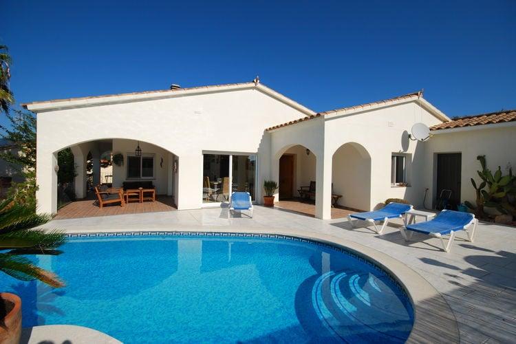 Vakantiehuizen Spanje | Costa-Brava | Villa te huur in Calonge met zwembad   6 personen