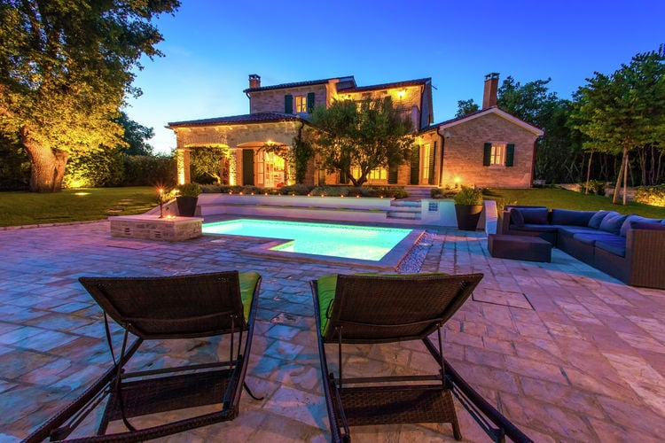 Villa Kroatië, Istrie, Baderna Villa HR-52445-12