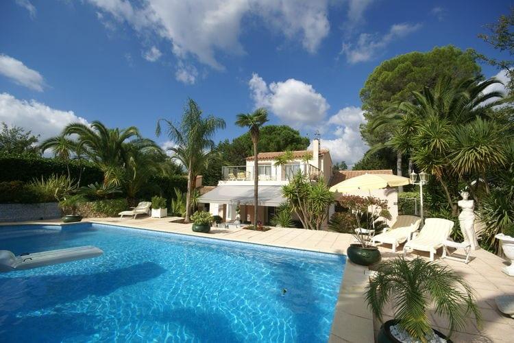 Mouans-Sartoux Vakantiewoningen te huur Prachtige villa met zwembad, jacuzzi, sauna, fitness en tuin vlakbij Cannes