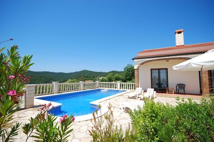 Vakantiehuizen Spanje | Costa-Brava | Villa te huur in Lloret-de-Mar met zwembad  met wifi 6 personen