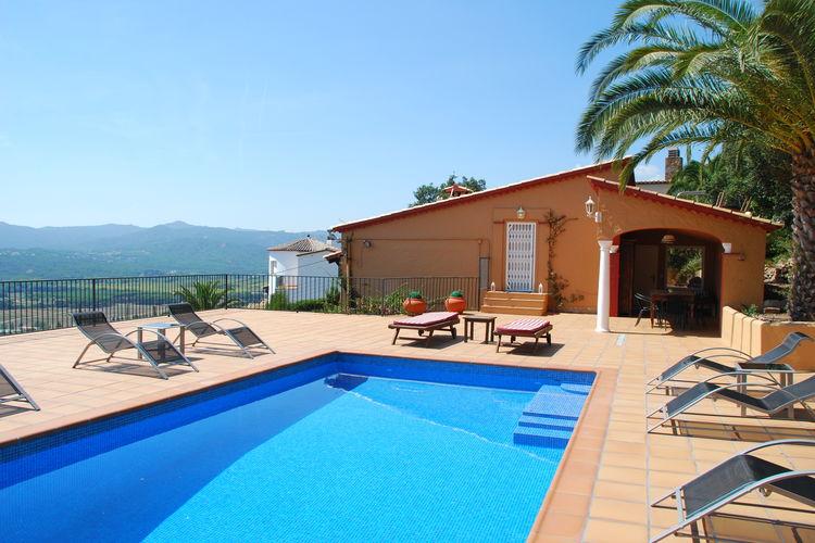 Spanje | Costa-Brava | Villa te huur in Castell-dAro met zwembad  met wifi 6 personen