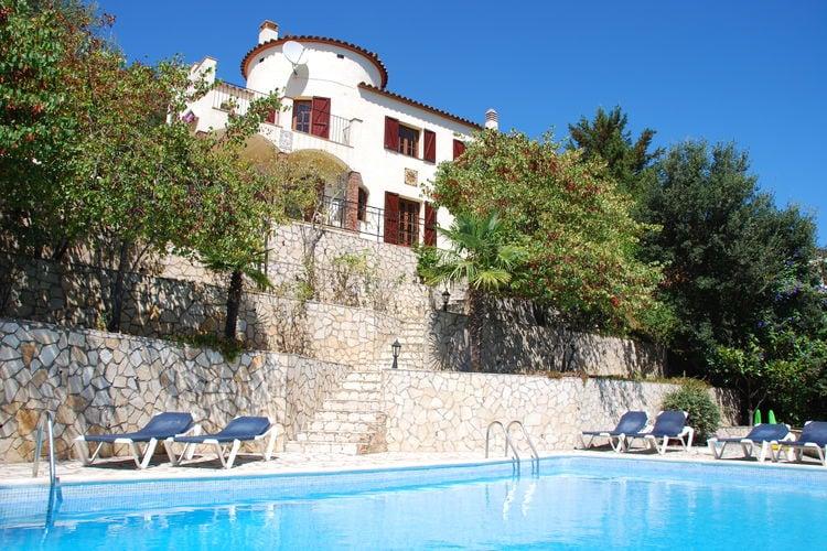Villa met zwembad met wifi  Costa BravaVista Colina