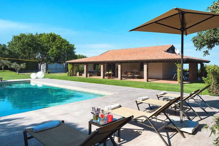 Villa met zwembad met wifi  Viagrande  Villa Trecastagni