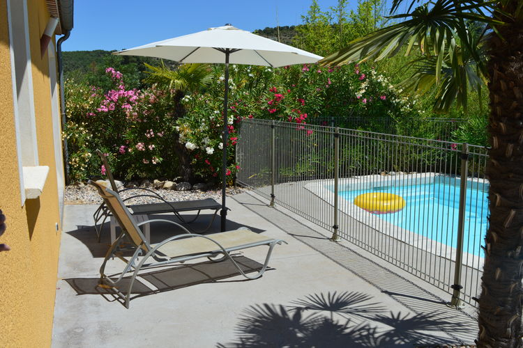 Villa met zwembad met wifi  ArdecheVilla 3 - Sampzon
