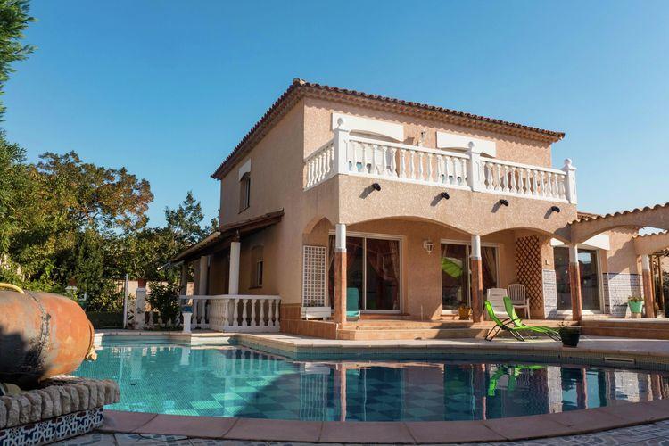 Villa huren in Perpignan - met zwembad  met wifi met zwembad voor 7 personen  Mooi, vrijstaand vakantiehuis met ..