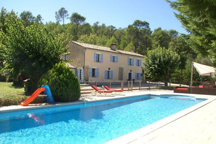 Villa met zwembad met wifi  LorguesBergerie