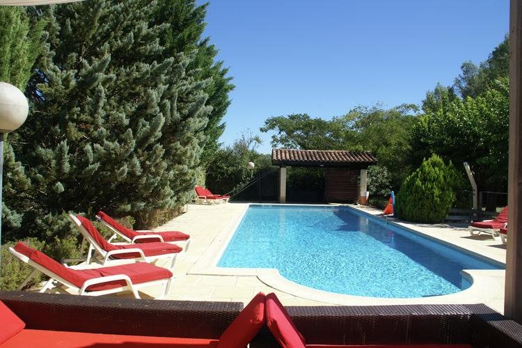Vakantiehuizen Frankrijk | Provence-alpes-cote-d-azur | Villa te huur in Lorgues met zwembad  met wifi 9 personen