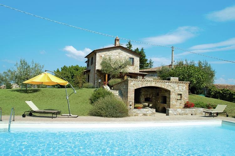 Vakantiehuizen Italie | Umbrie | Villa te huur in Umbertide-pg met zwembad  met wifi 7 personen