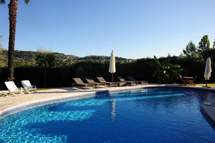 Villa met zwembad met wifi  La Colle-Sur-Loup  Villa La Colle sur Loup