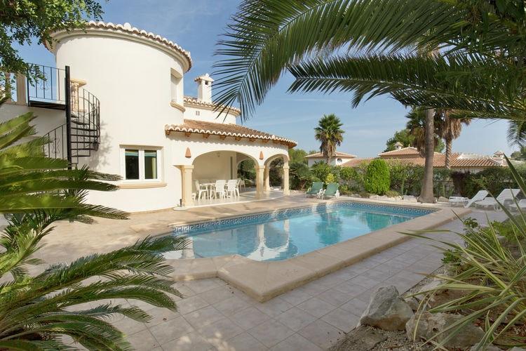 Villa met zwembad met wifi  MorairaLas Palmeras