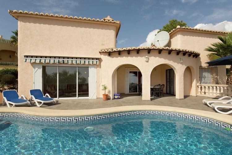 Villa met zwembad met wifi  MorairaMagnolias