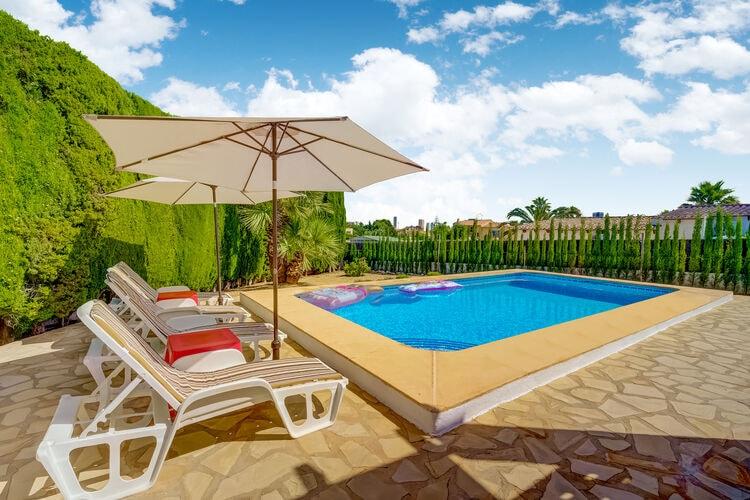 Vakantiehuizen Calpe te huur Calpe- ES-03710-40 met zwembad  met wifi te huur