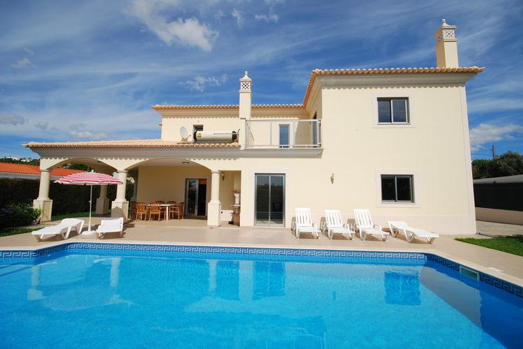 Albufeira Vakantiewoningen te huur Zeer ruime vakantievilla met privé-zwembad bij Albufeira aan de kust van Algarve