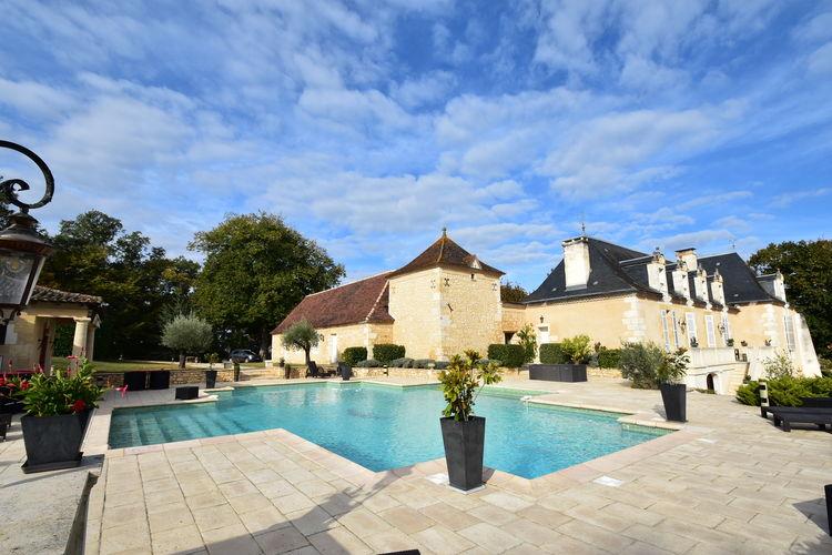 Frankrijk | Dordogne | Villa te huur in Liorac-Sur-Louyre met zwembad  met wifi 16 personen