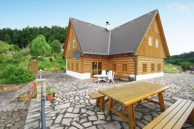 Villas Tsjechie | Reuzengebergte-Jzergebergte | Villa te huur in Pecka met zwembad  met wifi 12 personen