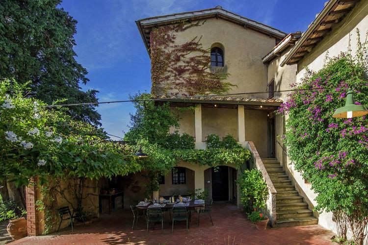 Vakantiehuizen Italie | Toscana | Villa te huur in Montefiridolfi met zwembad  met wifi 11 personen