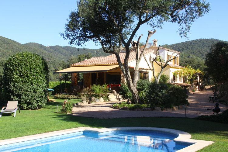 Spanje | Costa-Brava | Villa te huur in Calonge met zwembad  met wifi 8 personen