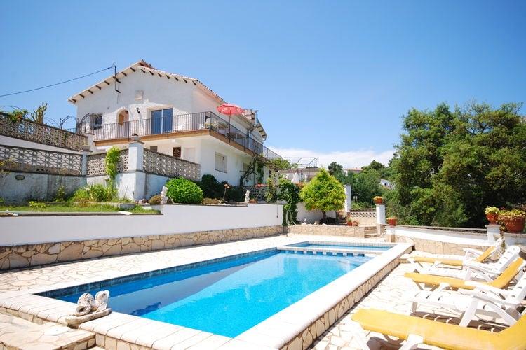 Villa huren in Lloret-de-mar - met zwembad  met wifi met zwembad voor 7 personen  Mooie villa met een verzorgd inter..