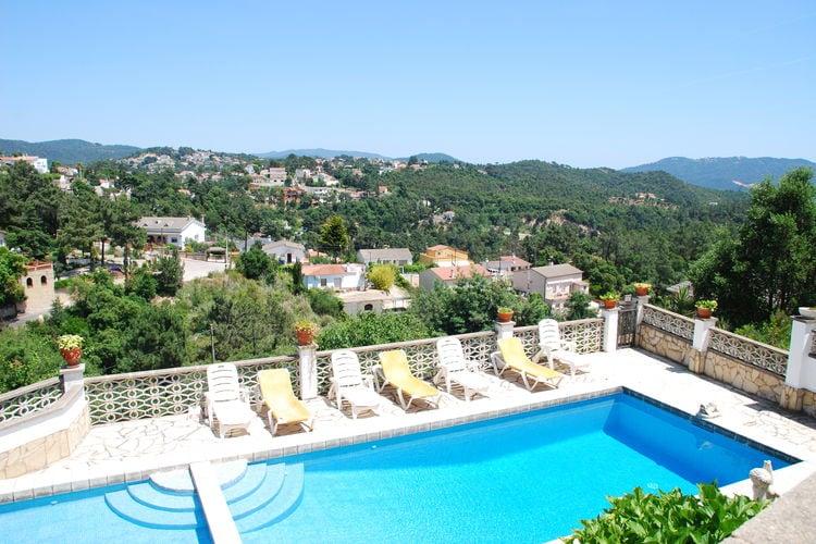 Vakantiehuizen Spanje | Costa-Brava | Villa te huur in Lloret-de-mar met zwembad  met wifi 7 personen