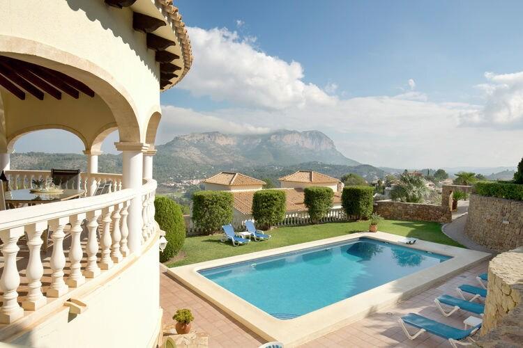 Villa met zwembad met wifi  PedreguerCasa Azul