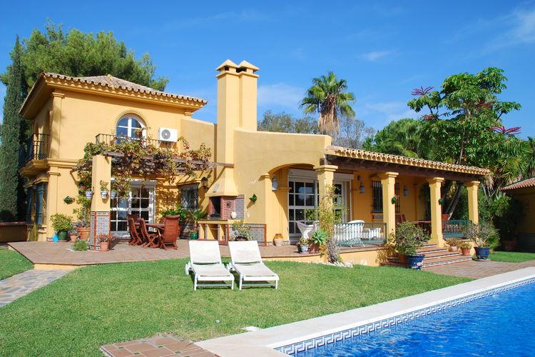 Villa met zwembad met wifi  Mijas  Casa Binon