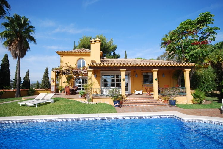 Spanje | Costa-del-Sol | Villa te huur in Mijas met zwembad  met wifi 7 personen