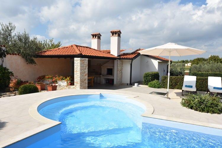 Villa Kroatië, Istrie, Kanfanar Villa HR-52352-07