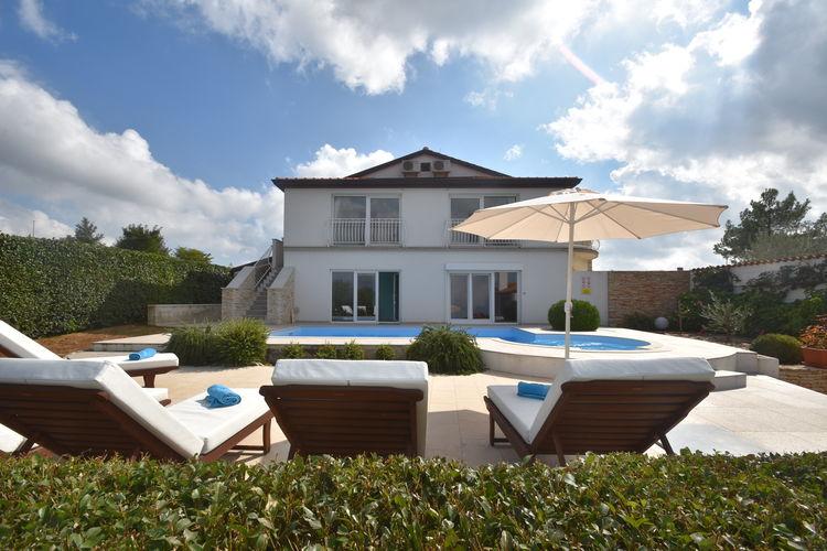 Vakantiehuizen Kroatie | Istrie | Villa te huur in Kanfanar met zwembad  met wifi 10 personen