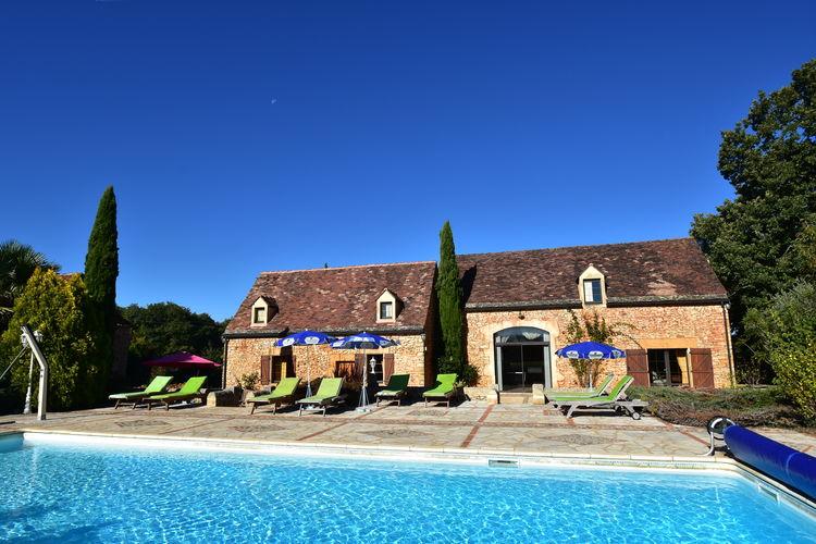 Frankrijk | Dordogne | Vakantiehuis te huur in Marminiac met zwembad  met wifi 10 personen