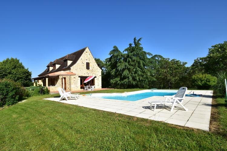Vakantiewoning met zwembad met wifi  Orliac  Maison de vacances Orliac