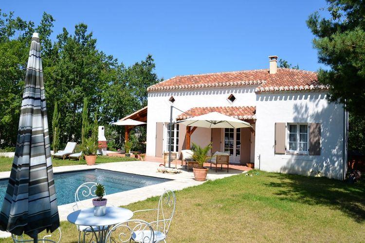 Vakantiehuis met zwembad met wifi  Montaigu-De-QuercyVilla d