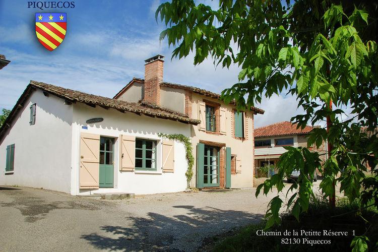 Vakantiehuizen Frankrijk | Midi-Pyrenees | Vakantiehuis te huur in Piquecos met zwembad  met wifi 8 personen