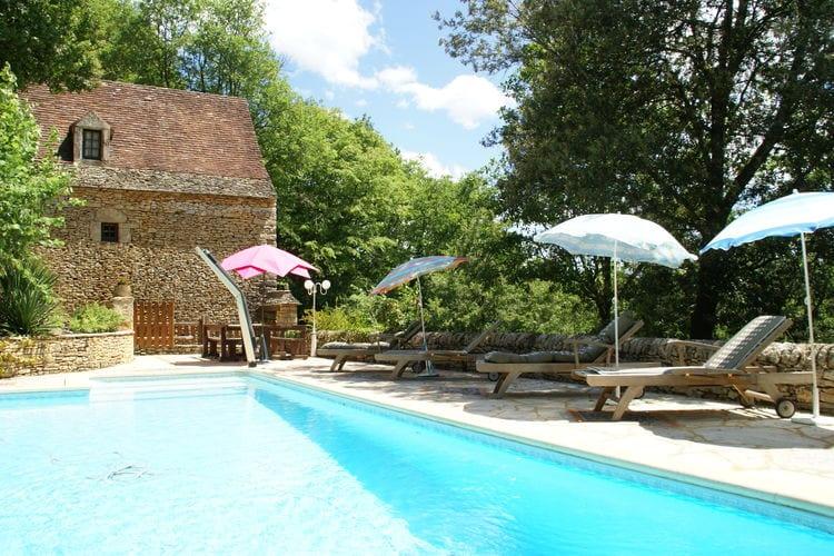 Frankrijk | Dordogne | Vakantiehuis te huur in Besse met zwembad  met wifi 6 personen