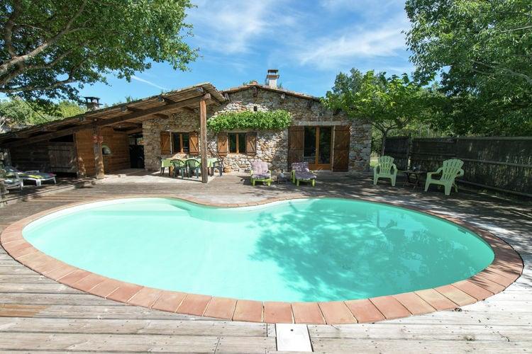 Vakantiehuizen Ardeche te huur St.-Alban-Auriolles- FR-07120-23 met zwembad  met wifi te huur