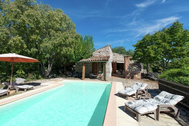 Vakantiehuizen Ardeche te huur St.-Alban-Auriolles- FR-07120-24 met zwembad  met wifi te huur