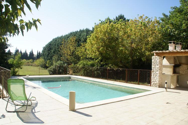 Frankrijk | Provence-alpes-cote-d-azur | Vakantiehuis te huur in Le-Thor met zwembad  met wifi 12 personen