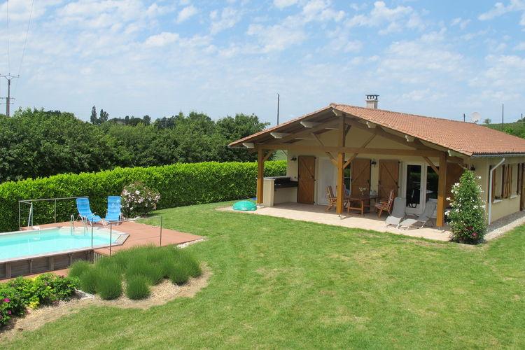 Vakantiehuis met zwembad met wifi  DordogneMaison de vacances La Belle Vue