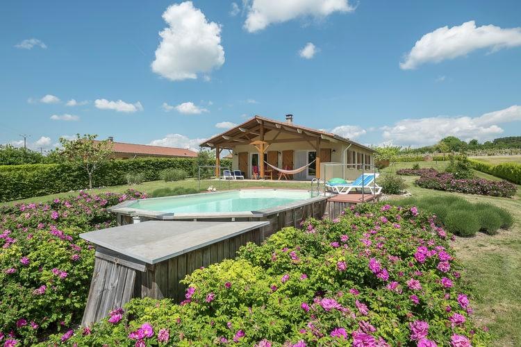 Vakantiehuis met zwembad met wifi  DordogneMaison de vacances Sadillac Le Bonheur