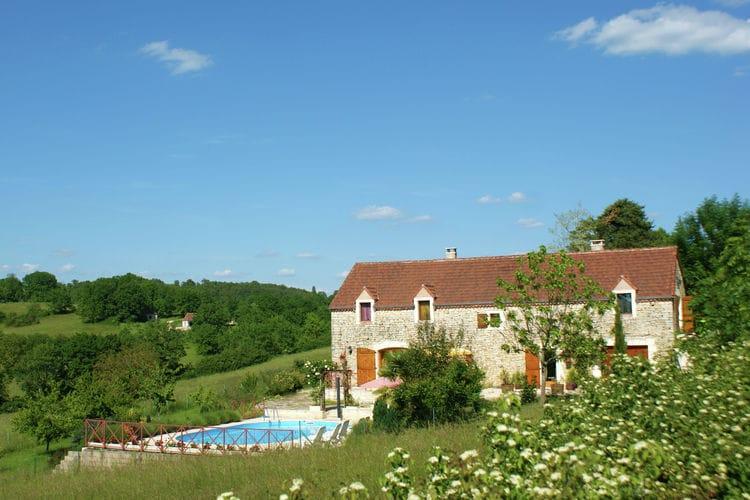 Vakantiehuizen Frankrijk | Midi-Pyrenees | Vakantiehuis te huur in Thedirac met zwembad  met wifi 10 personen