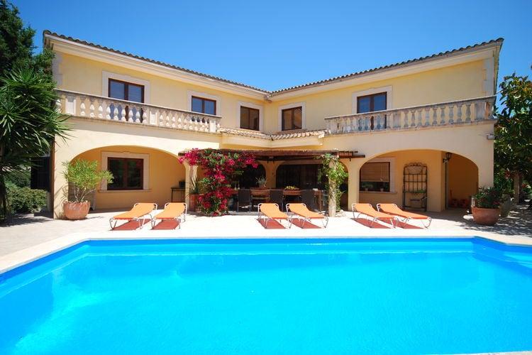 Vakantiehuizen Spanje | Mallorca | Vakantiehuis te huur in Sant-Llorenc-des-Cardassar met zwembad  met wifi 10 personen