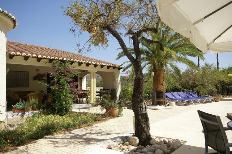 vakantiehuis Spanje, Costa Blanca, Parcent vakantiehuis ES-03792-04