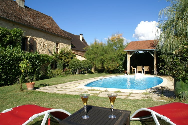 Frankrijk | Dordogne | Vakantiehuis te huur in St-Jory-Las-Bloux met zwembad  met wifi 6 personen
