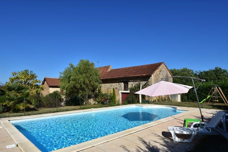 Vakantiehuis met zwembad   BesseMaison de vacances Le Moulinal Haut