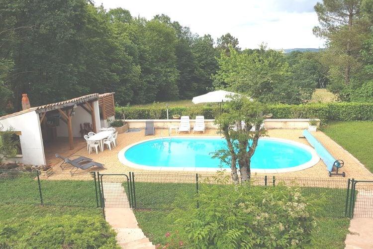Vakantiehuis met zwembad met wifi  DordogneMaison de vacances Belves
