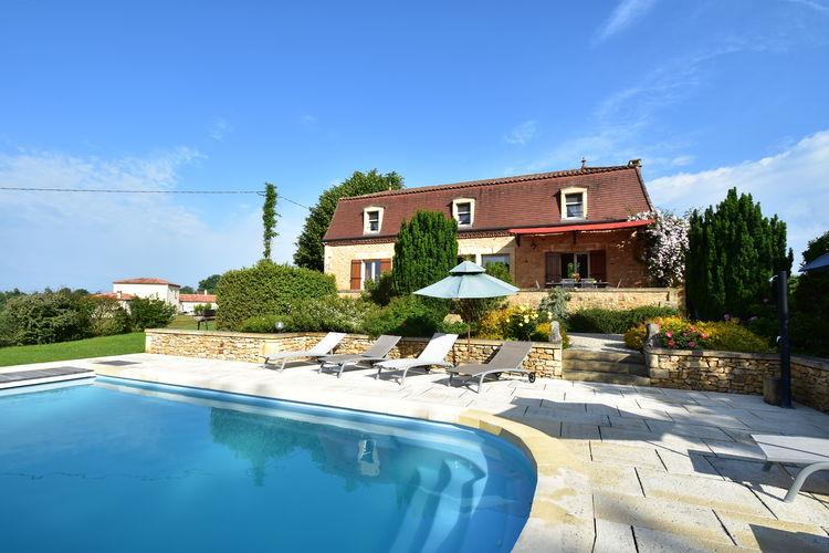 Vakantiehuis met zwembad met wifi  DordogneMaison de vacances - COUX-ET-BIGAROQUE