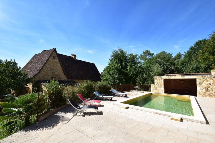 Vakantiehuis met zwembad met wifi  DordogneMaison de vacances Domme